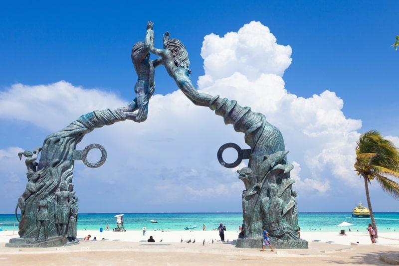 Park Los Fundadores in Playa del Carmen