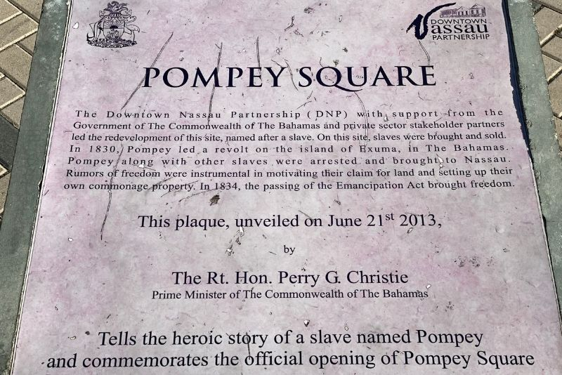 Pompey Museum of Slavery & Emancipation in Nassau, The Bahamas