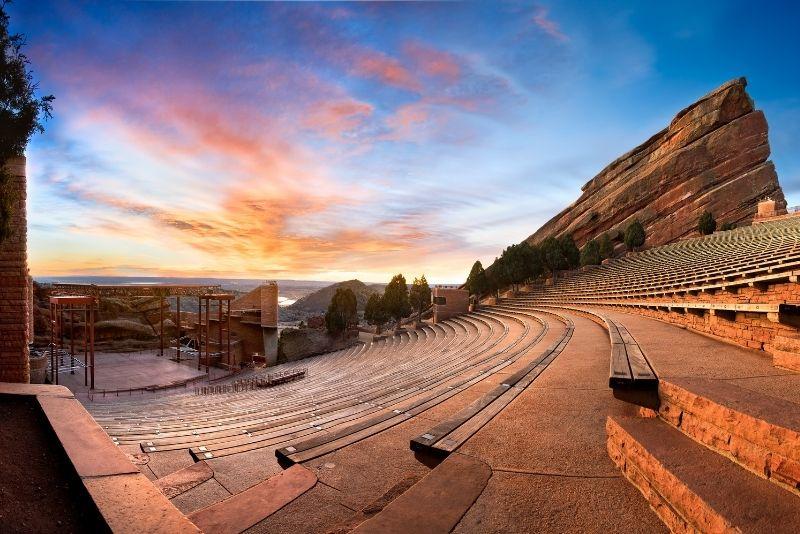 Red Rocks Park and Amphitheatre, Denver