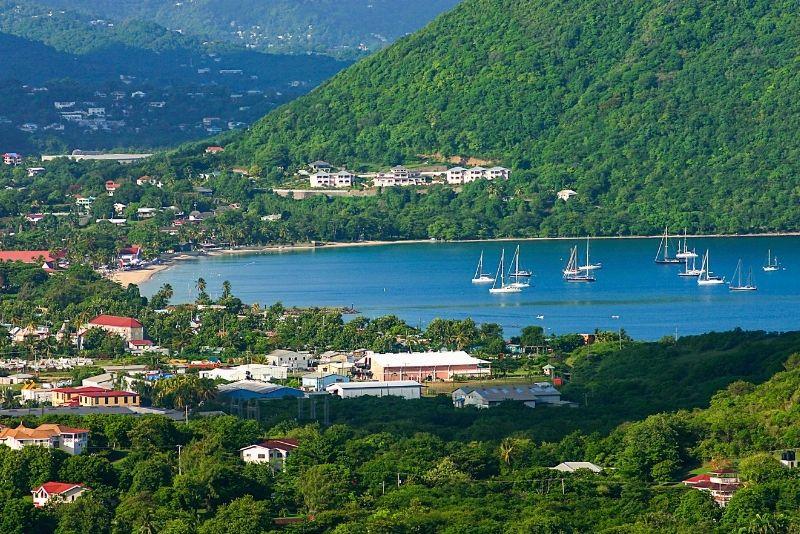 Rodney Bay, St Lucia