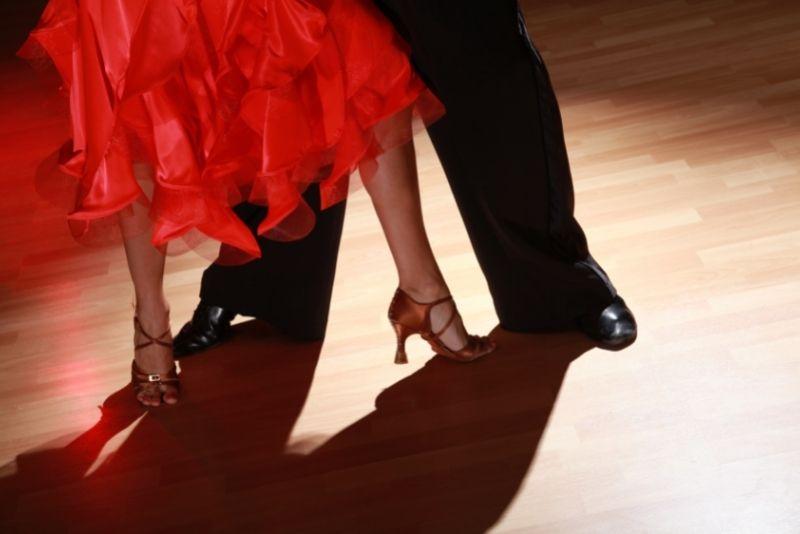 Salsa dancing in San Juan