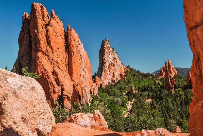 The Garden of the Gods day trip from Denver, Colorado