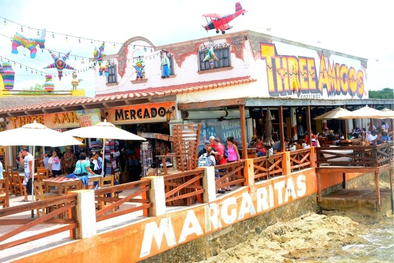 Three Amigos Restaurant, Cozumel