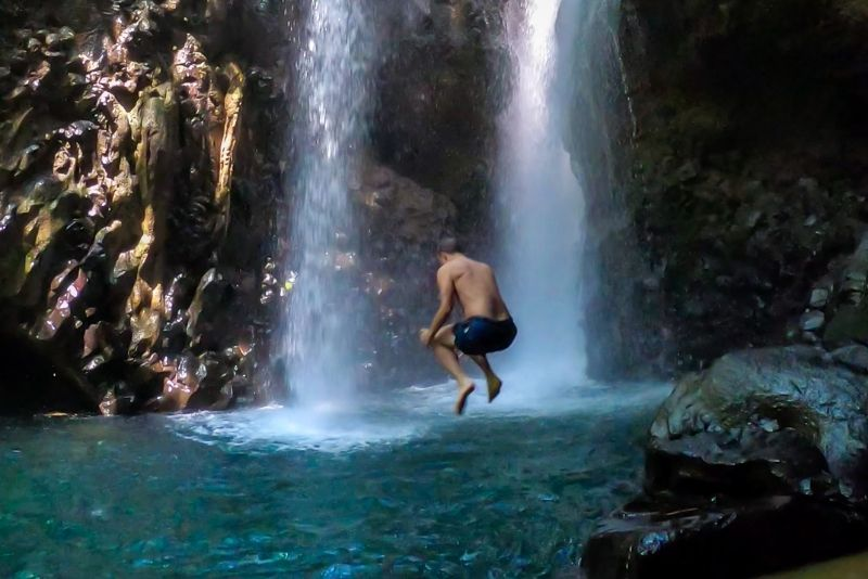 Toraille Waterfall, St Lucia