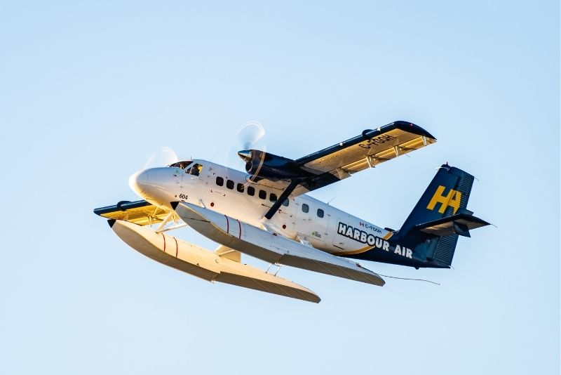 airplane tours in Vancouver