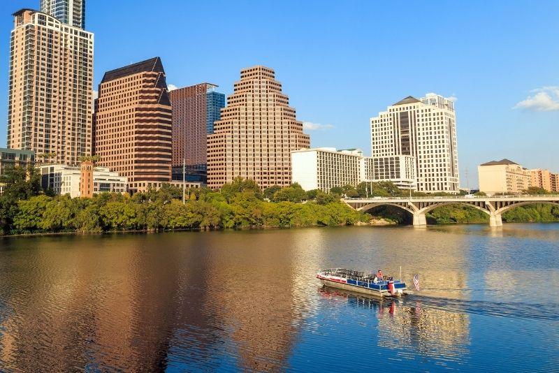 boat tour in Austin