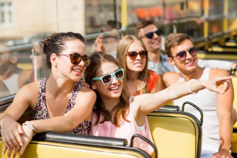 bus tour in Austin