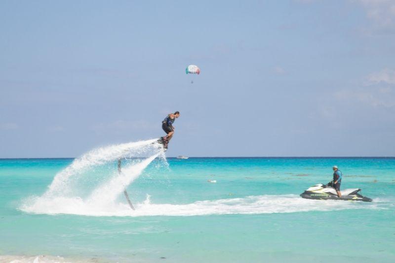 flyboarding in Cabo San Lucas