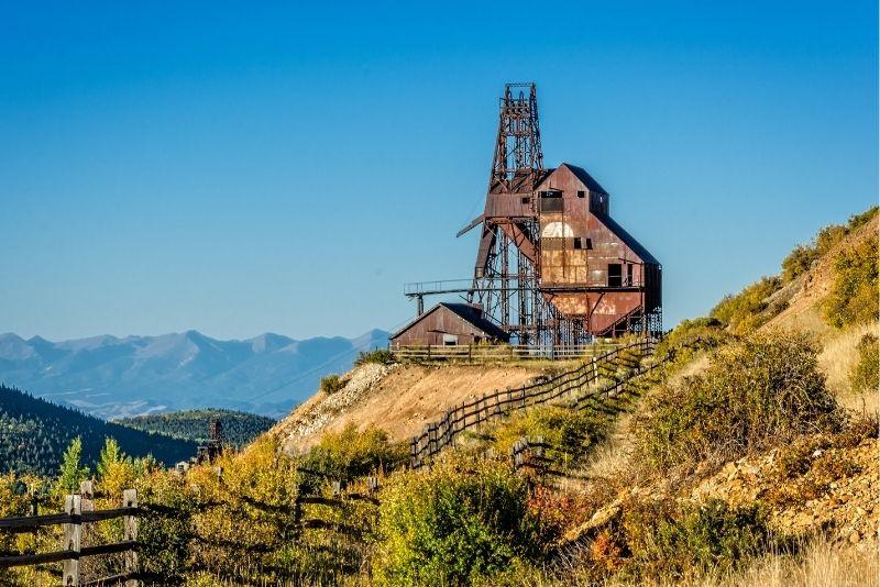 gold mine in Cripple Creek, Denver