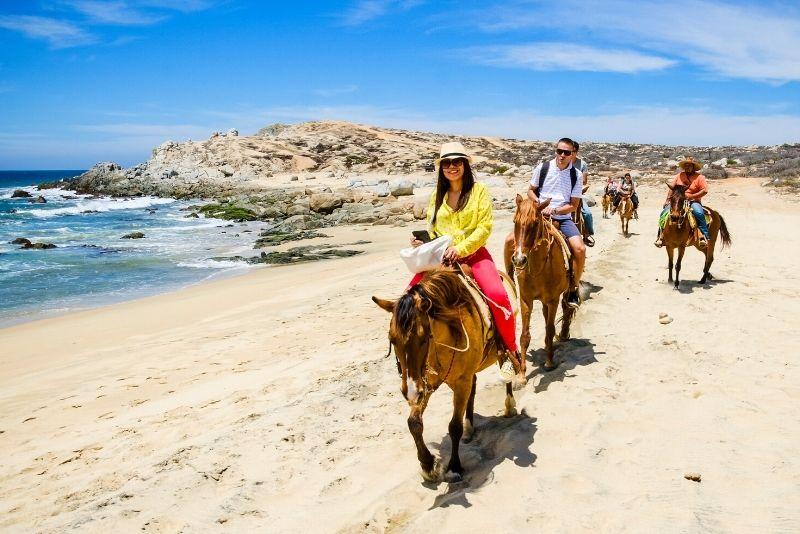 horse riding in Cabo San Lucas
