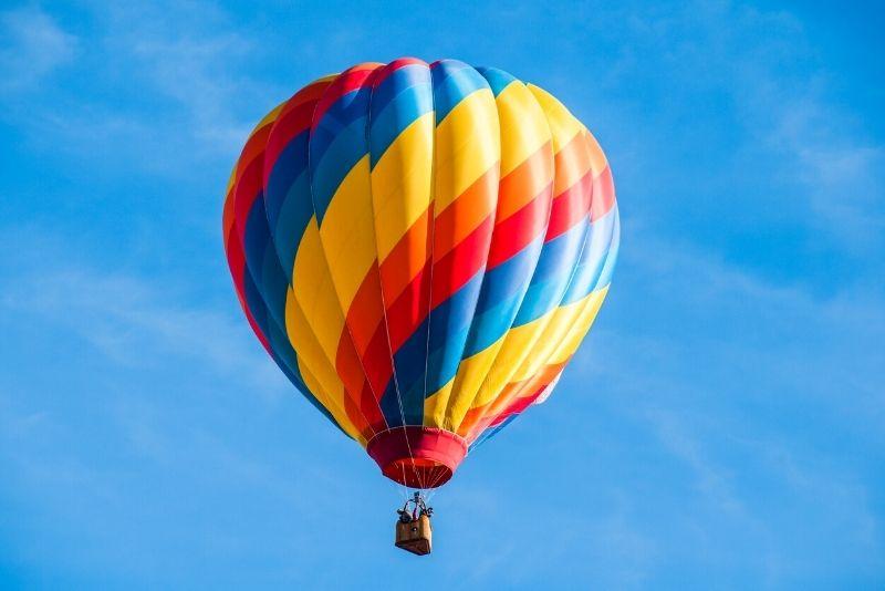 hot air balloon ride in Austin