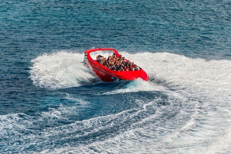 jetboat in Cozumel