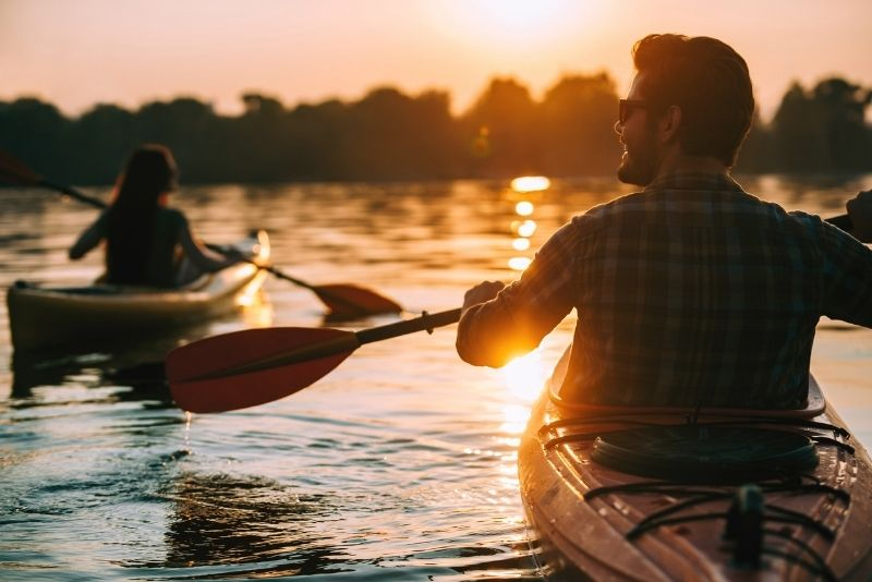 kayaking, Sedona
