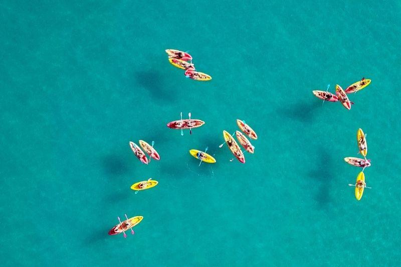 kayaking, The Bahamas