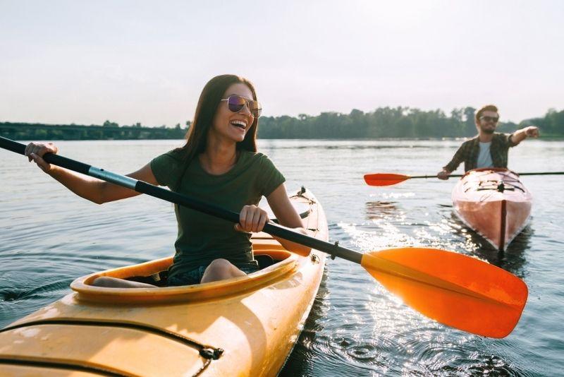 kayaking in Salt Lake City