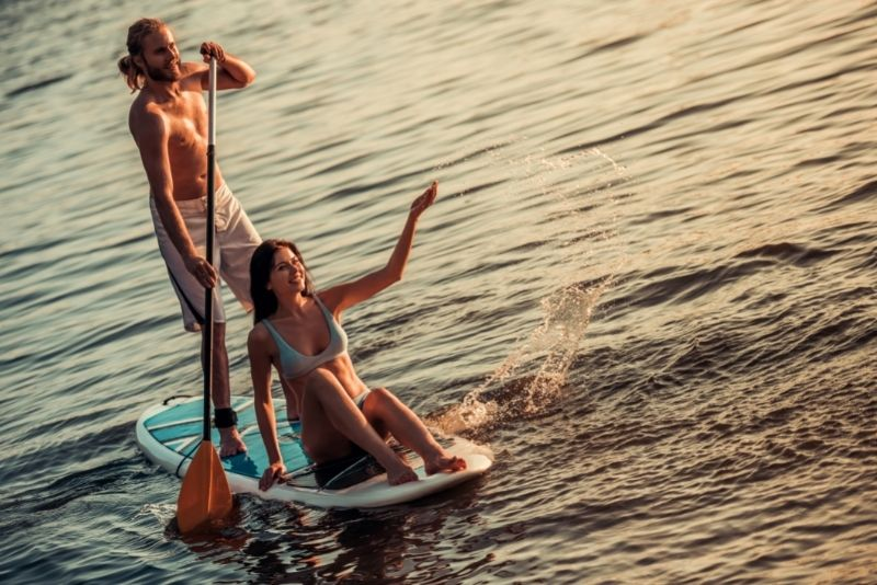 paddleboarding in Vancouver