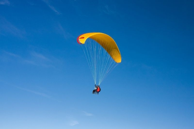 paragliding in Salt Lake City