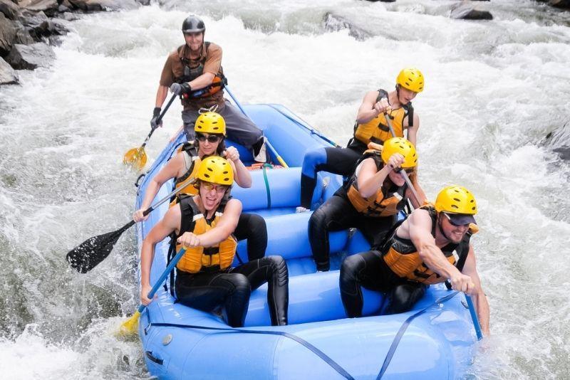 rafting in Denver
