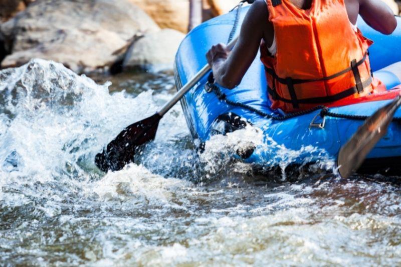 rafting in Salt Lake City