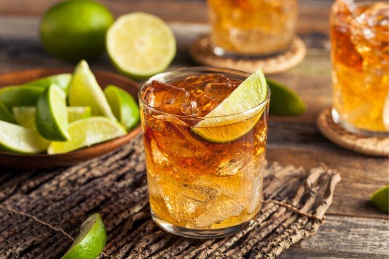 rum tasting in St Lucia