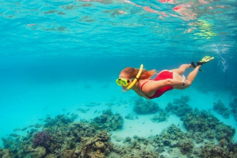 snorkel in San Juan