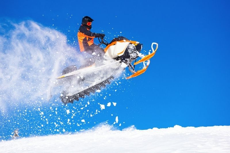 snowmobile tours in Park City
