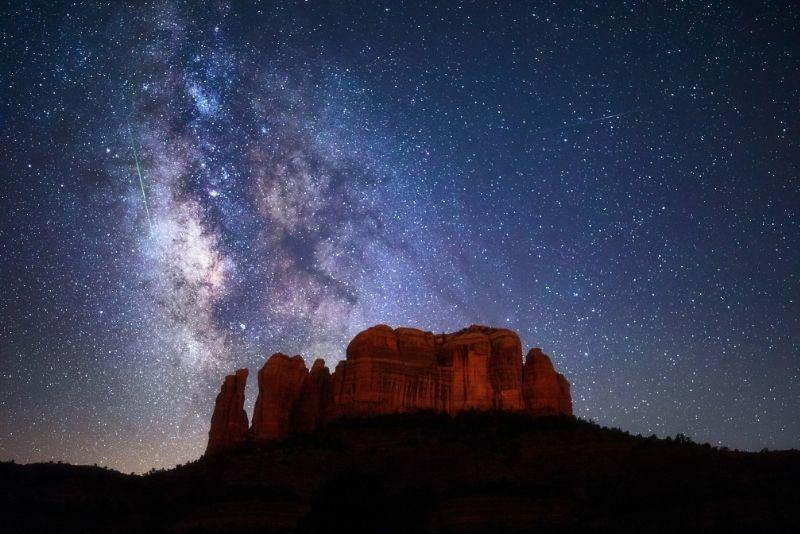 stargazing in Sedona