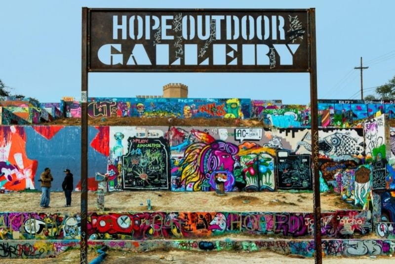 street art tour in Austin