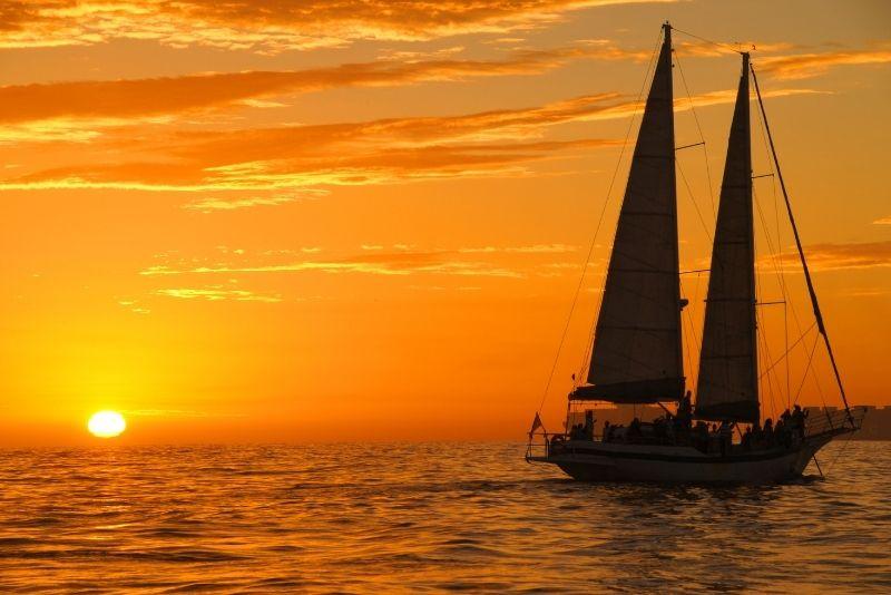 sunset cruise, St Lucia