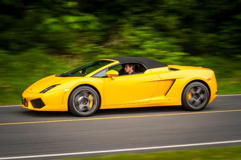 supercar driving experience in Denver