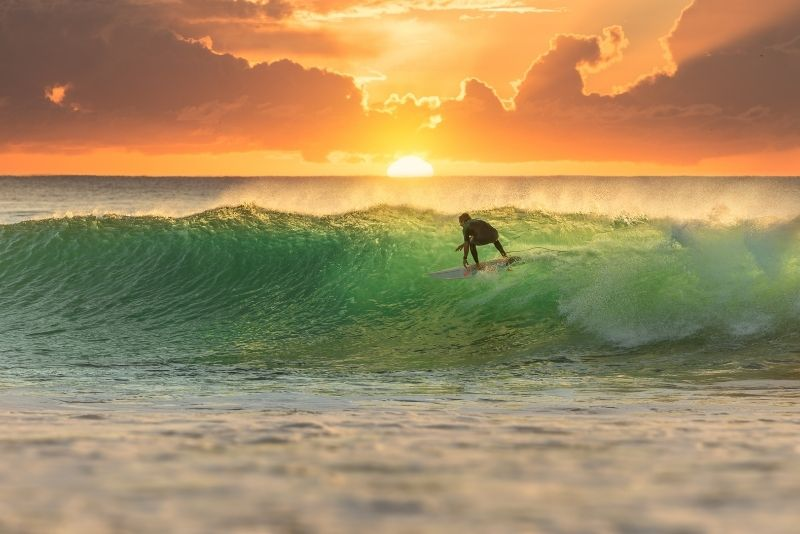 surfing in Cabo San Lucas