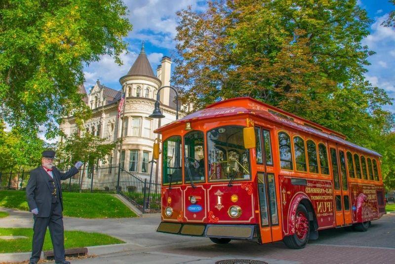 trolley tours in Salt Lake City