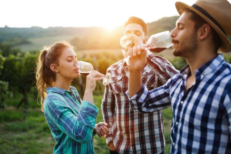 wine tasting in Sedona