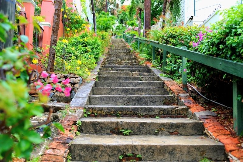 99 steps in St Thomas