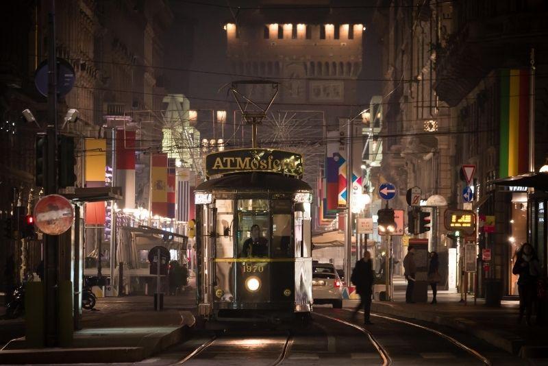 Straßenbahn ATMosfera, Mailand