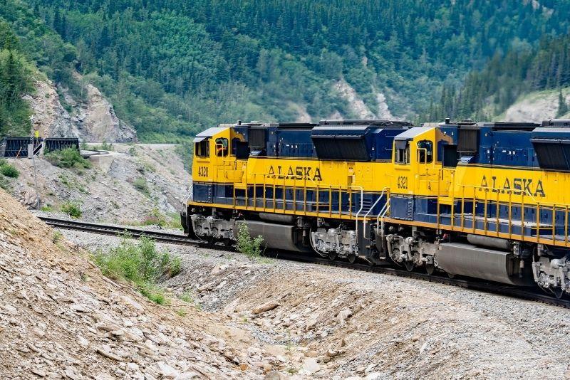 Alaska Railroad, Anchorage