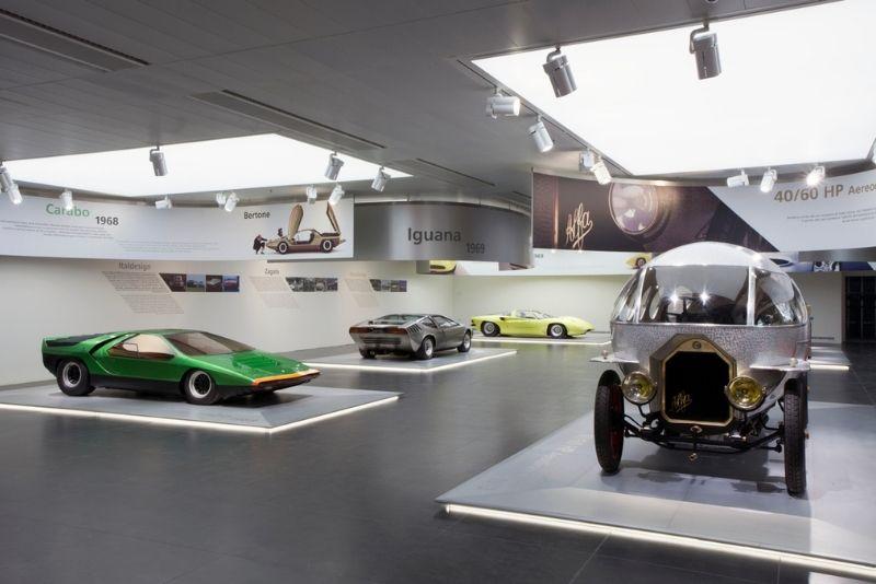 Alfa Romeo Museum, Mailand
