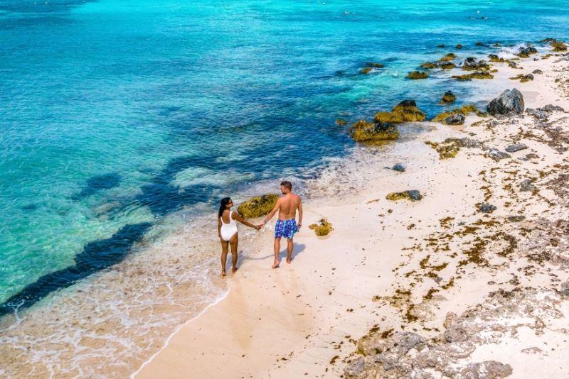 Antilla shipwreck & Boca Catalina Beach, Aruba