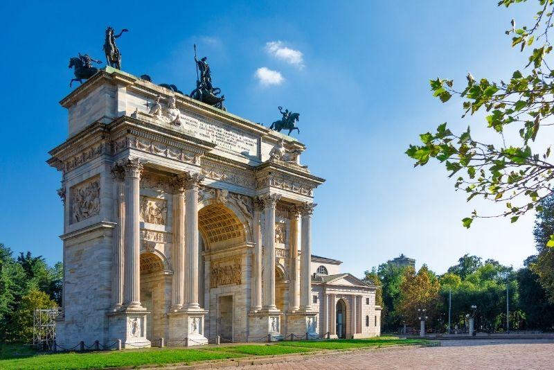 Friedensbogen, Mailand