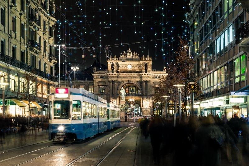 Bahnhofstrasse, Zurich