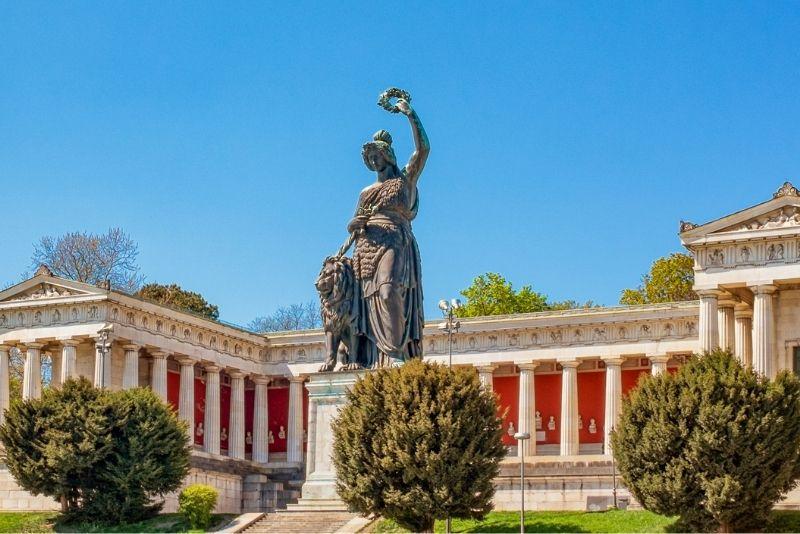 Bavaria Statue, Munich