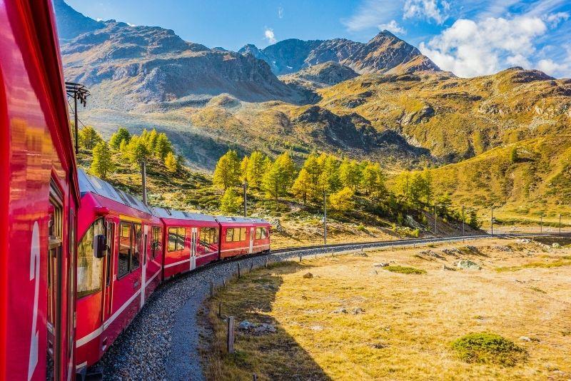 Bernina Express-Touren ab Mailand