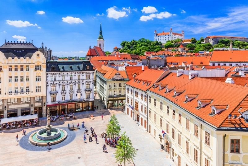 Gita di un giorno a Bratislava da Vienna