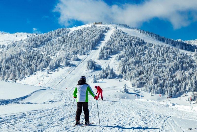 Bursa Uludag ski resort, Turkey