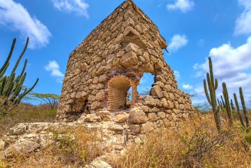 Bushiribana and Balashi ruins, Aruba