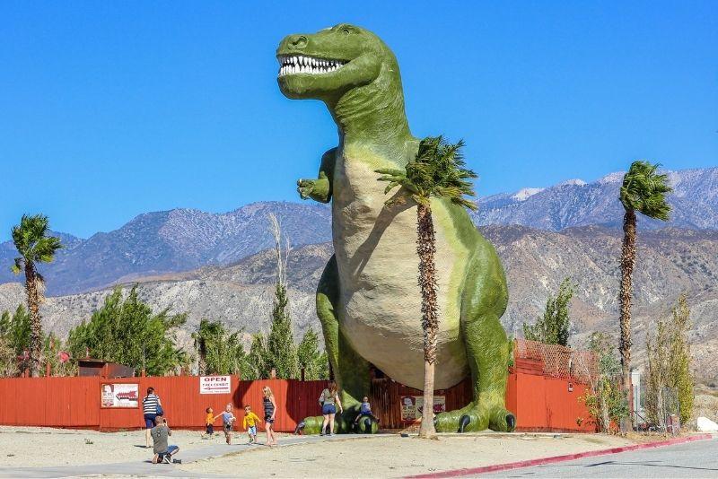 Cabazon Dinosaurs, Palm Springs