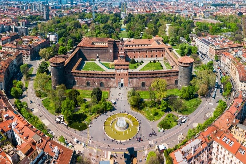 Schloss Sforzesco, Mailand
