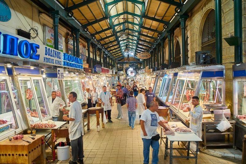 Central Municipal Athens Market, Greece