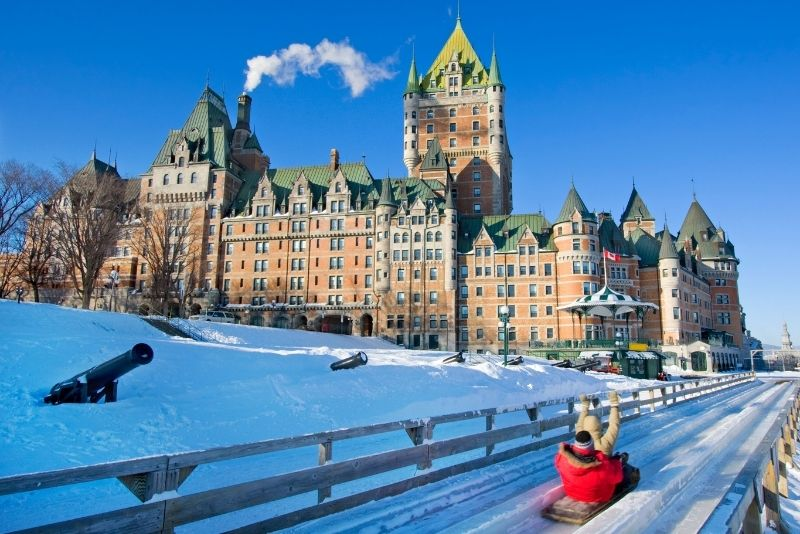 Château Frontenac Hotel in Quebec City