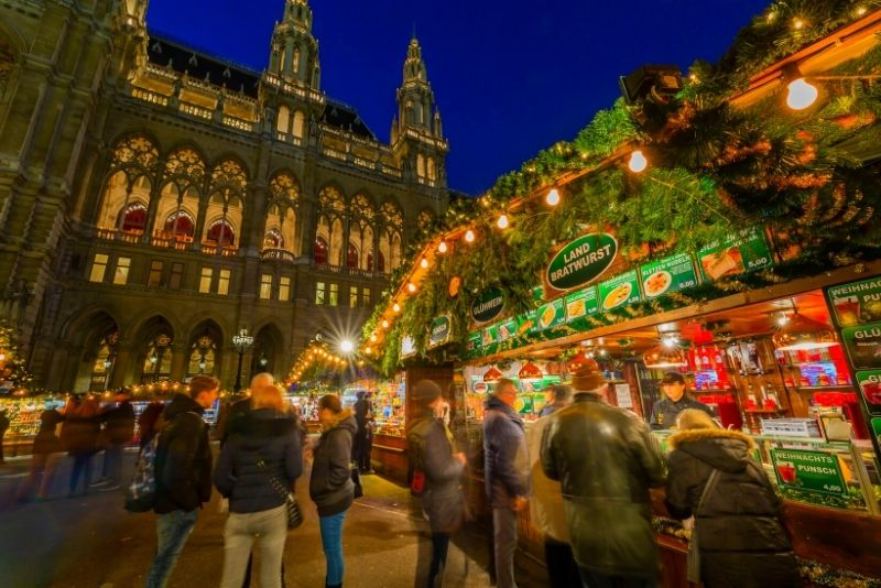 Mercatino di Natale al Rathaus, Vienna